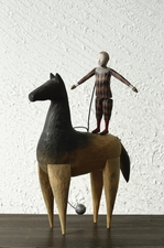 木馬と少年.JPG